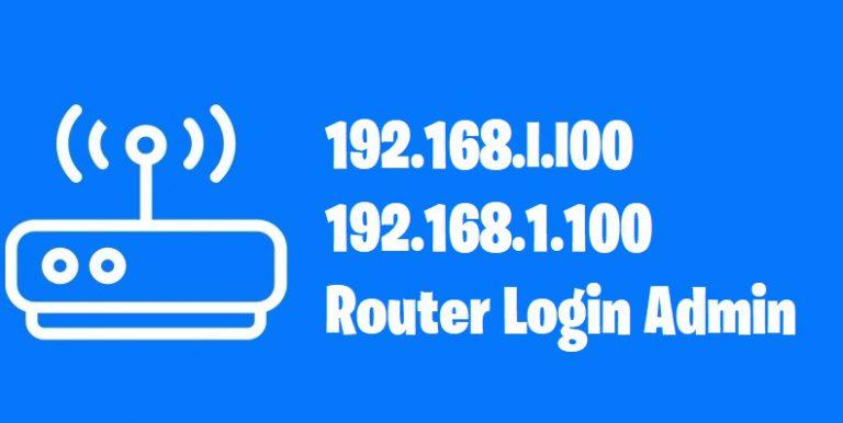 192.168.l.l00 – 192.168.1.100
