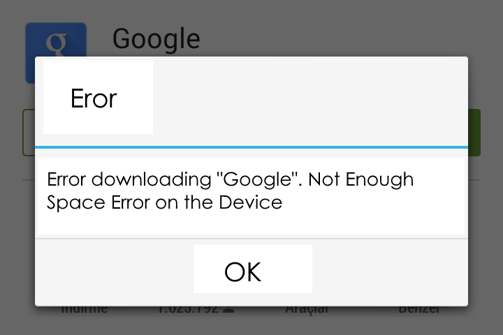 How to Solve Not Enough Space Error on the Device?